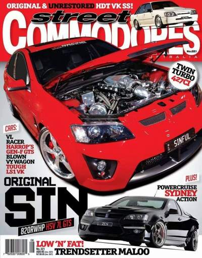 Find out more about our feature cars and magazine covers!