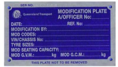 Do you need a Modification Plate? Ask us how we can help.